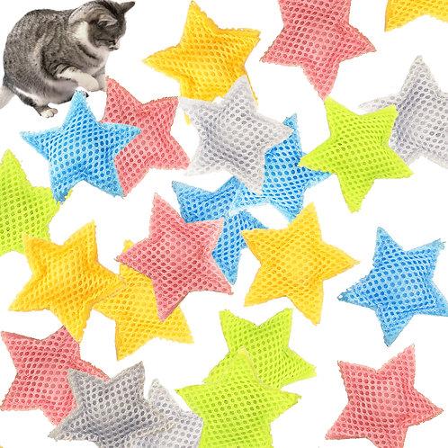 Youngever 10 Pcs Cat Toys Kitten Toys, Cat Stars, Toys for Cat Kitty Kitten