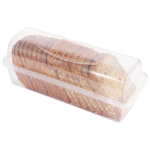 Youngever Plastic Bread Container, Bread Storage Bin, Bread Box for Countertop