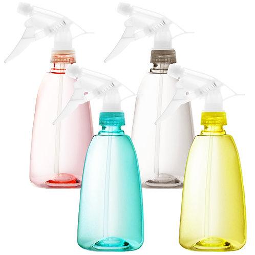 Youngever 4 Pack Empty Plastic Spray Bottles, Spray Bottles