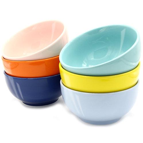 Youngever 27 Ounce Porcelain Bowls, Large Cereal Bowls, Large Soup Bowls
