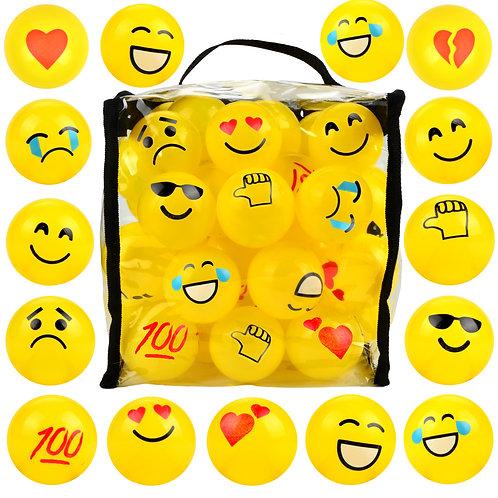 60 Pack Emoji Pit Balls