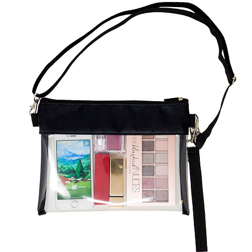 Youngever Deluxe Clear Cross-Body Purse
