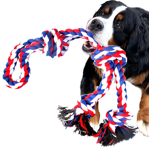 Youngever 40 Inch Indestructible Large Dog Rope Toys, Dog Chew Toys