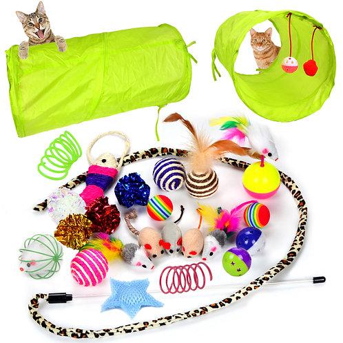 24 Cat Toys Kitten Toys Assortments