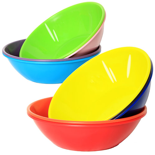 Youngever 28 Ounce Plastic Bowls, Large Cereal Bowls, for Cereal, Soup or Salad