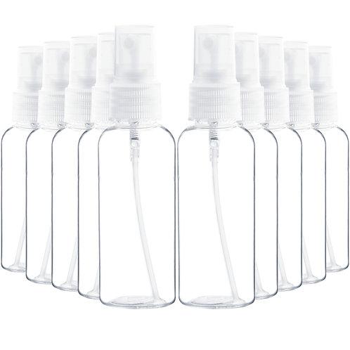 Youngever 20 Pack Plastic Spray Bottles 2 Ounce, Refillable Plastic Spray Bottle