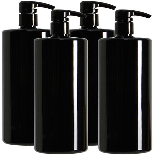 Youngever 4 Pack 32 Ounce Pump Bottles for Shampoo, Empty Shampoo Pump Bottles