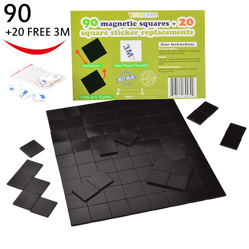 Adhesive Magnets Magnetic Tape Squares