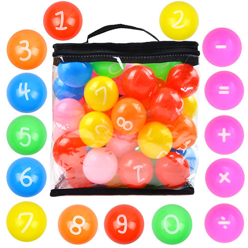 Youngever 60 Pack Color Pit Balls