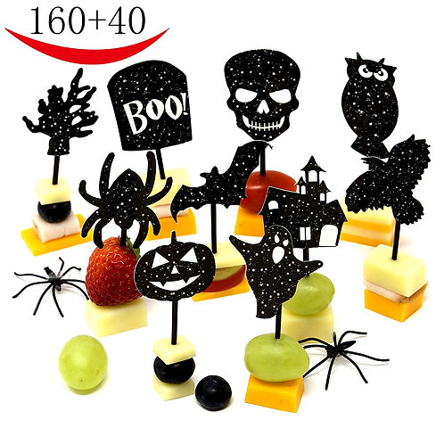 200 Halloween Party Decorations - Halloween Party Supplies