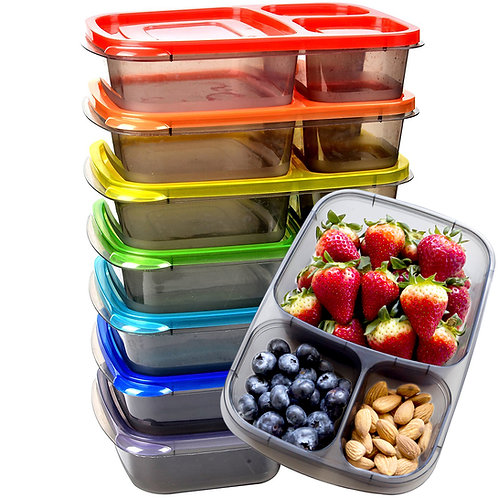 Youngever Home 7 Color Rainbow Bento Box