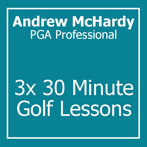 3 Lesson Package with Andrew McHardy.