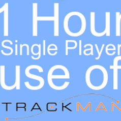 1 Hour Single Player Trackman Hire
