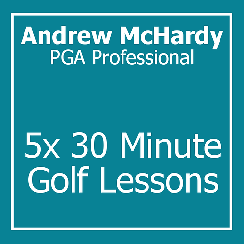 5 Lesson Package with Andrew McHardy