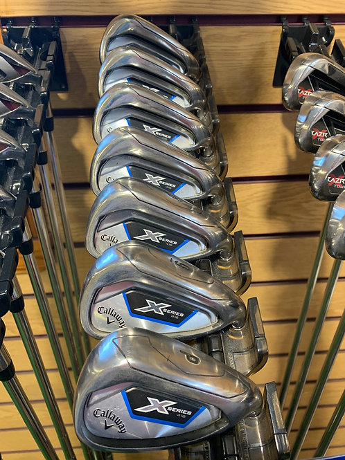 Callaway X Series Pre Owned Irons