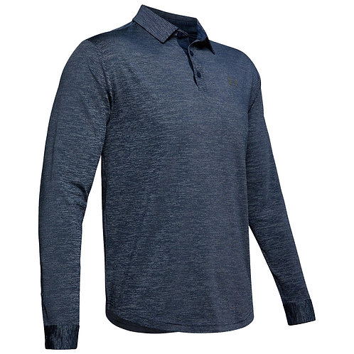 Under Armour Playoff Polo Long Sleeve Navy