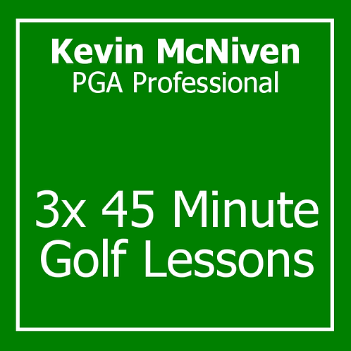 3 x 45 Pre Season Package with Kevin McNiven