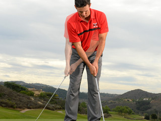 Elbows not shoulders for perfect putting