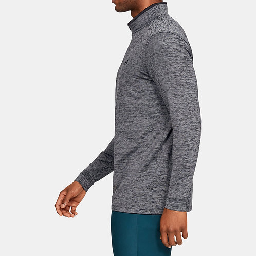 Under Armour Playoff Polo 2.0 1/4 zip Grey