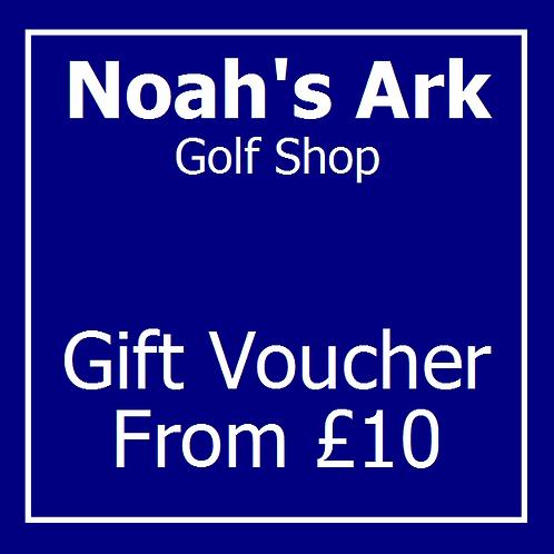 Gift Voucher for Golf Shop