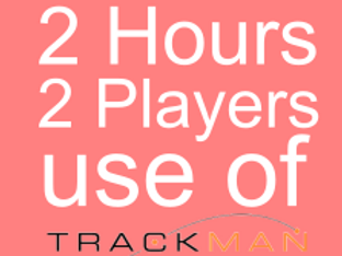 2 Hours Two Players Trackman Hire