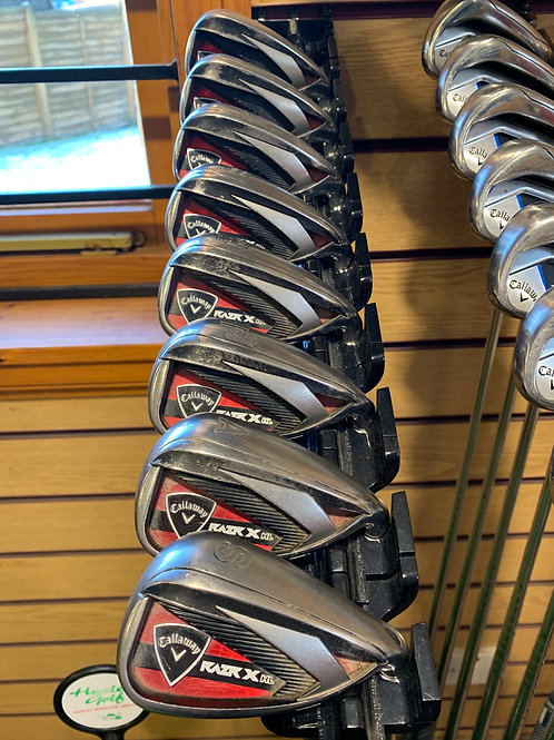 Callaway Razr X HL Pre Owned Irons