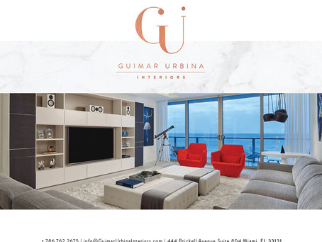 Guimar Urbina Interiors Press Kit