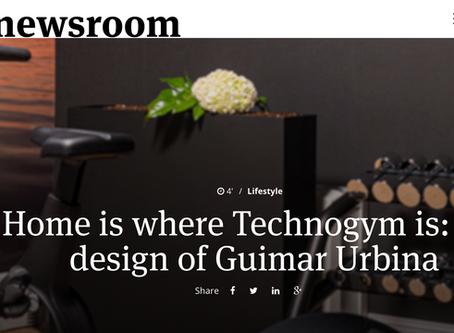Home is where Technogym is: the design of Guimar Urbina