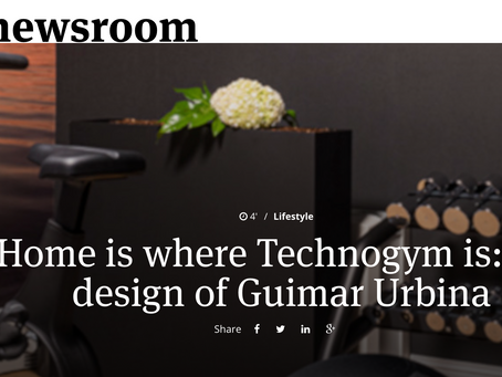 Home is where Technogym is: the design of Guimar Urbina