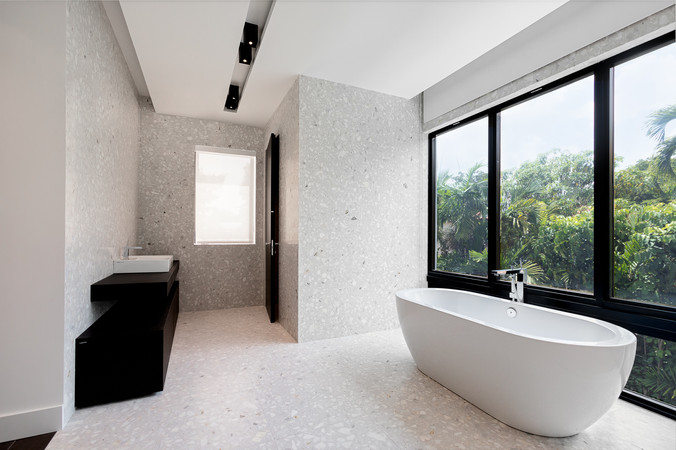 custom private res. at coral gables