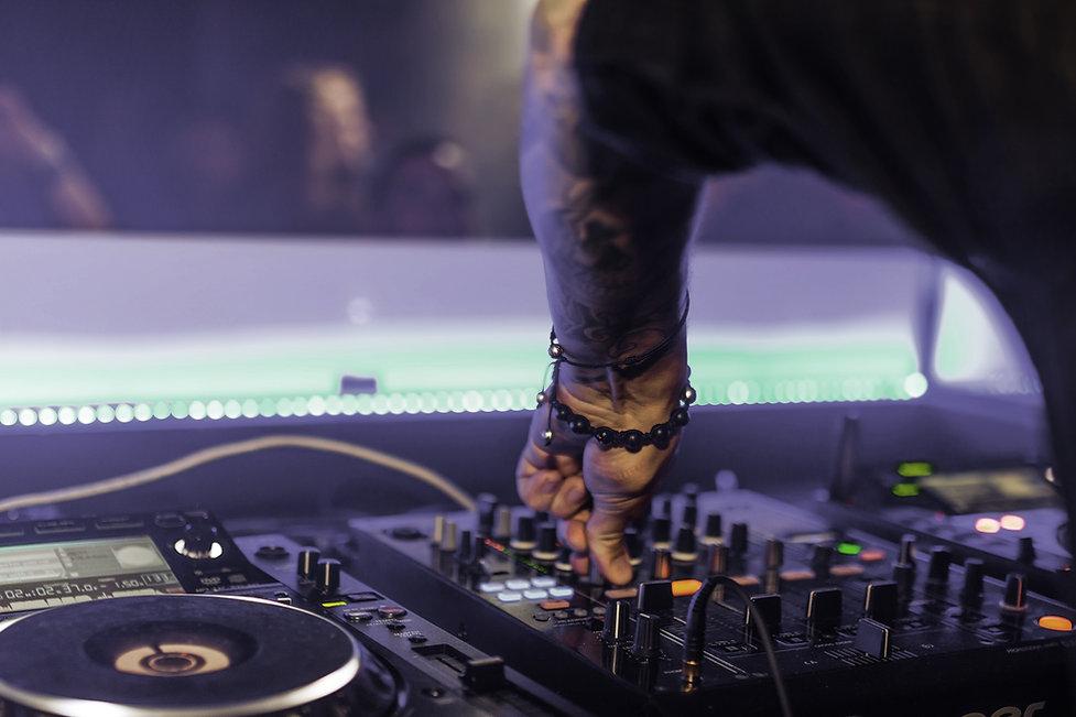 DJ Music Spinning