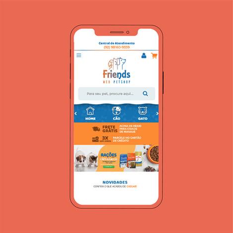Friends Web PetShop
