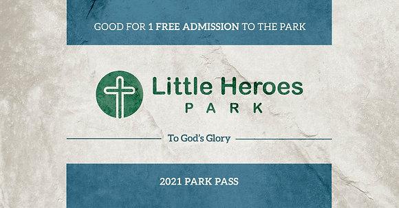 (Adult) Park Pass - 2021