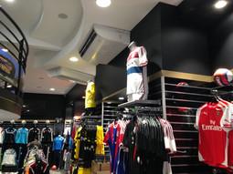 Rénovation magasin espace foot