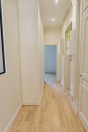 Rénovation d'un appartement lyonnais | Couloir