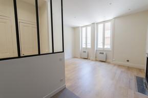 Rénovation d'un appartement lyonnais | Salon