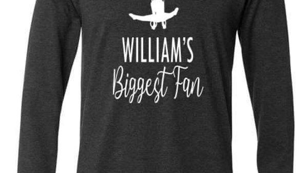 Biggest Fan Long Sleeve Shirt