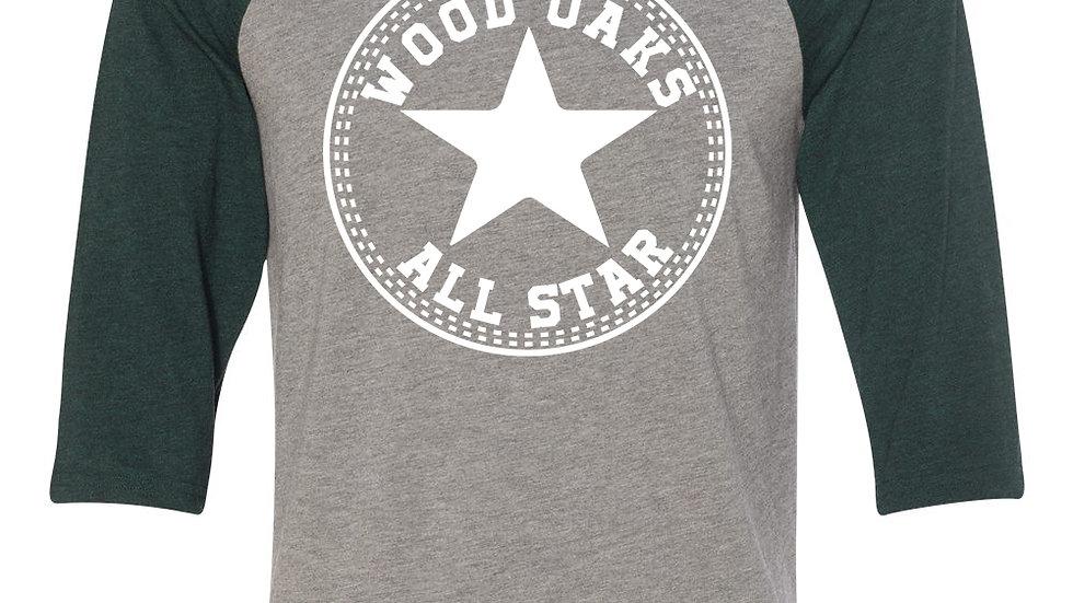WoodOaks Allstar Baseball Tee