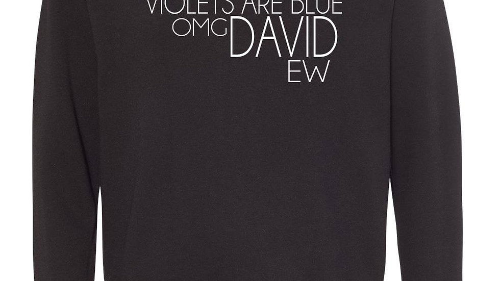 Roses Are Red... David