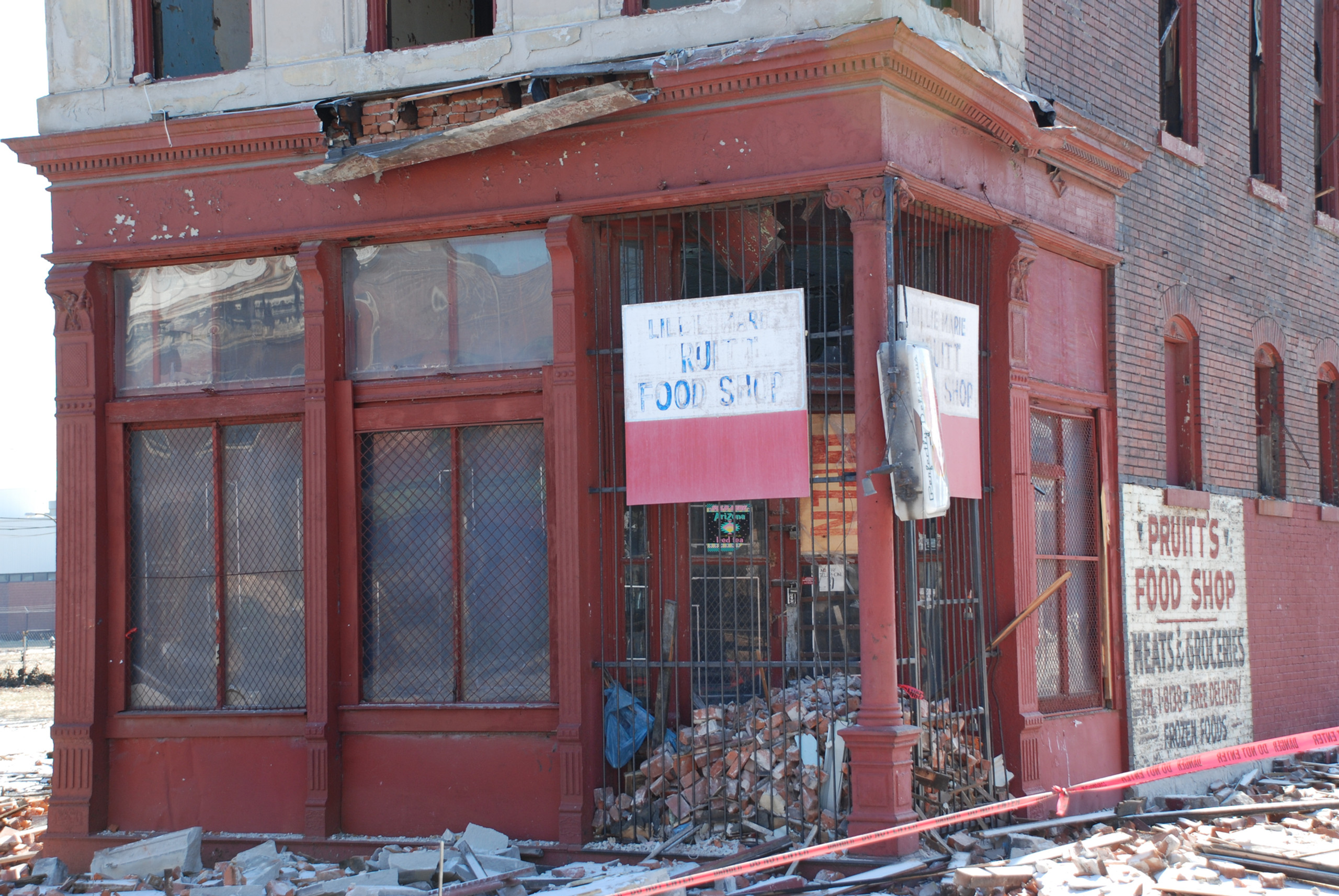Cast Iron Storefront for sale.