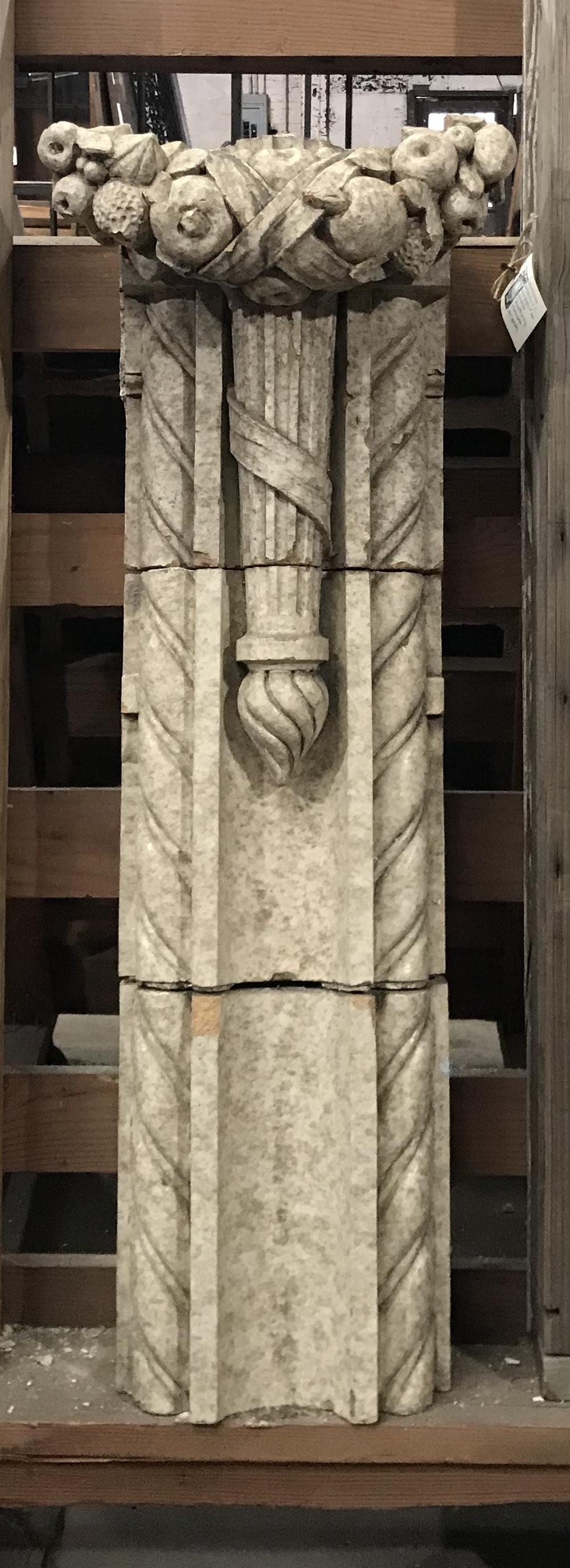 Terra cotta architectural salvage