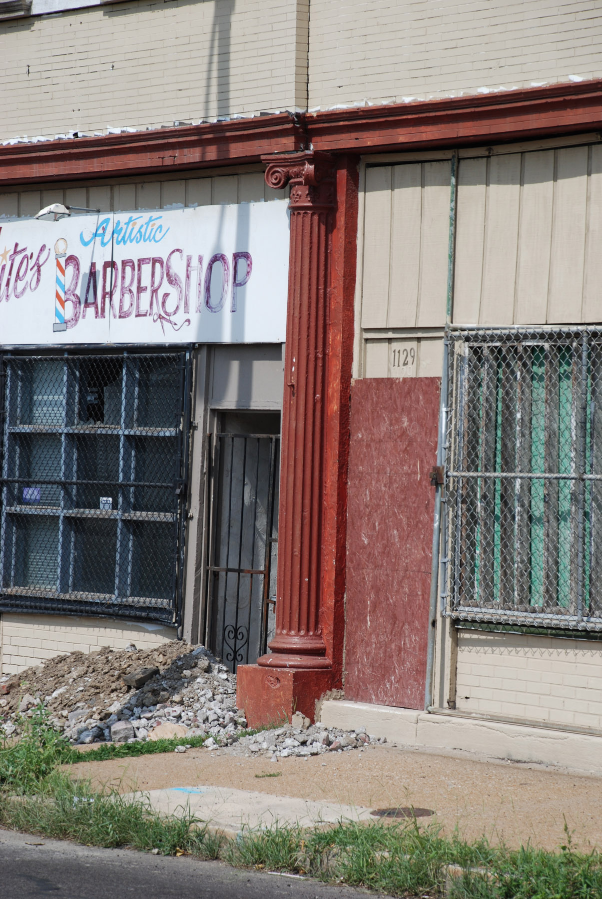 Iron Store Front from Vandeventor & Cook.