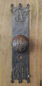 Wainwright knob and plate.
