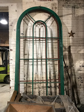 Iron Windows from Bronson Hyde building