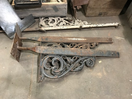 Iron Brackets for Balcony