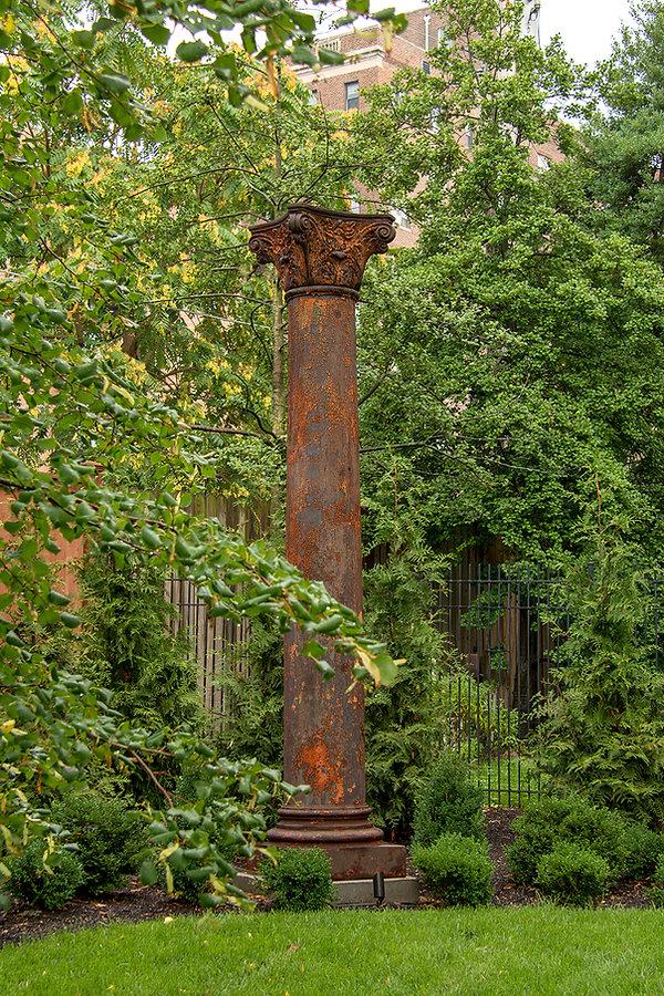 Architectural salvage Iron Corinthian Column