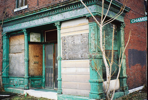 Iron Store Front: 1430 Chambers St.