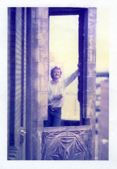 Ken, in one of the bay windows.