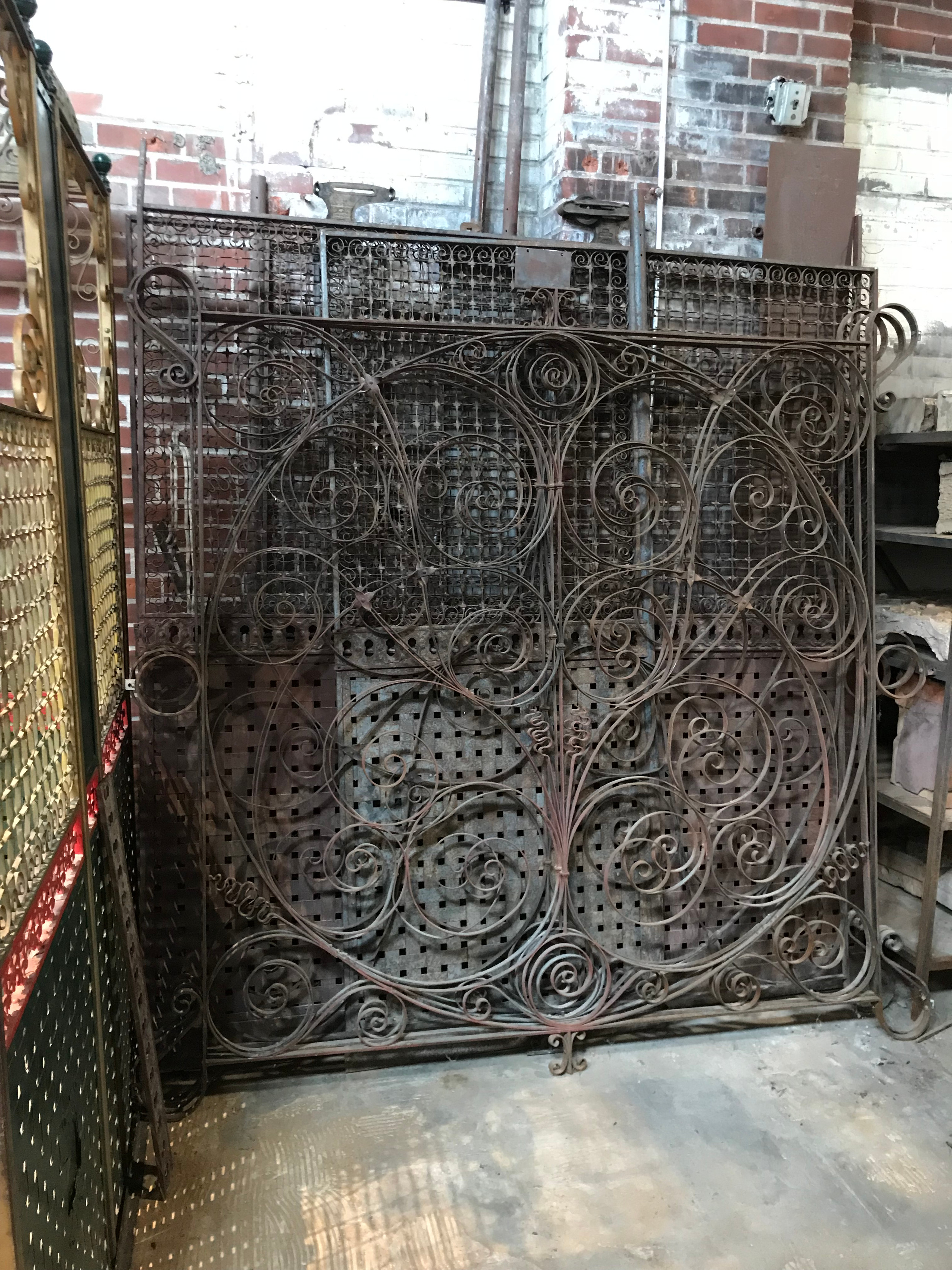 Vintage OTIS elevator cage from the Stifel Building in St. Louis MO.