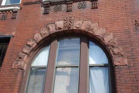 Terra Cotta Arched Window